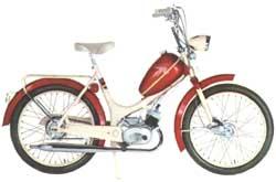 Crescent mopeder modeller