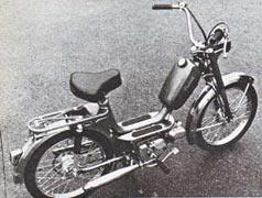 Mcb Az on Morini Moped Gyromat