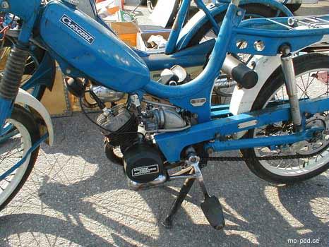 Mcb B on Morini Moped Gyromat