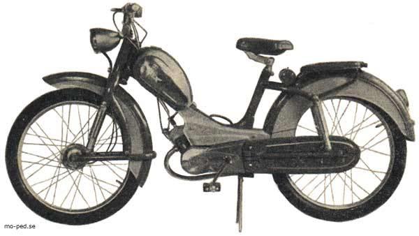 ein original rex moped der rex motorenwerke m nchen. Black Bedroom Furniture Sets. Home Design Ideas