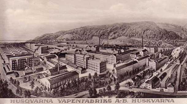 HUSQVARNA VAPENFABRIKS A.-B. HUSKVARNA.